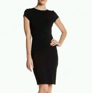 Love...Ady Cap Sleeve Bodycon Dress (s) Blk《NWT》